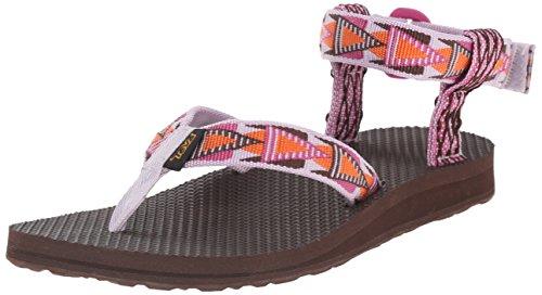 Teva Women's Original Sandal, Mashup Orchid, 9 M (Womens Toe Loop Sandali)