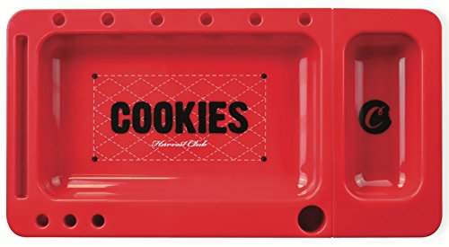 Goodlife Cookies Rolling Tray (Red) (Cookies Grinder Weed compare prices)