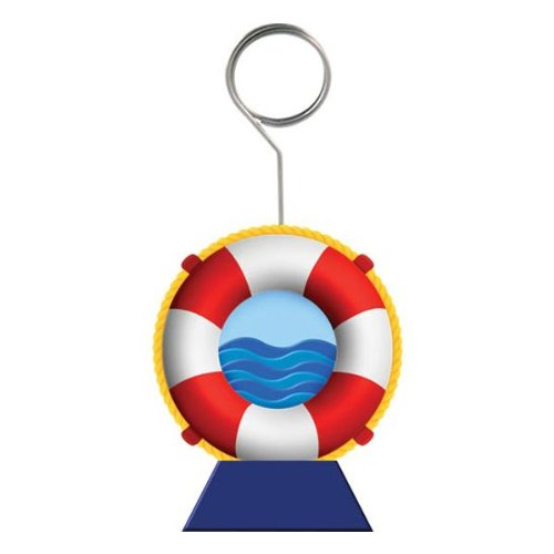 Life Preserver Photo/Balloon Holder Party Accessory (1 count)