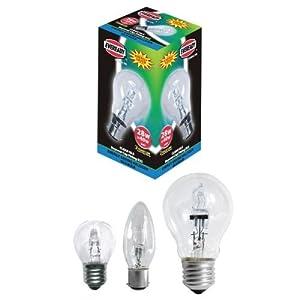 gls eco halogen bulb 100 watt 150 watt es e27 edison screw. Black Bedroom Furniture Sets. Home Design Ideas