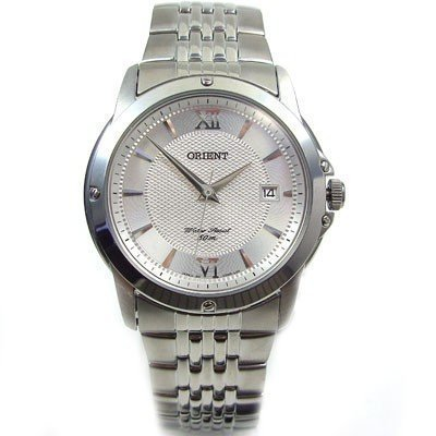 Orient CUN9X005W - Orologio da polso da uomo colore argento