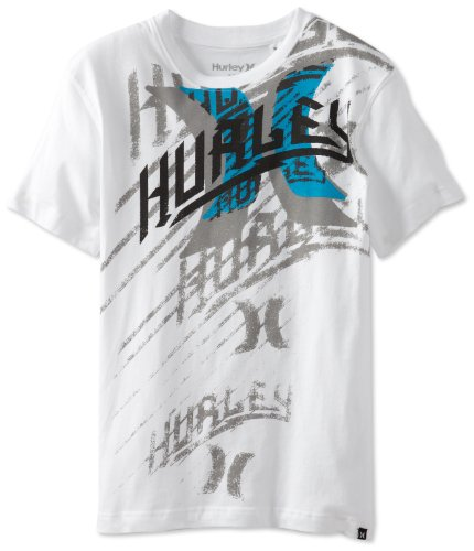 Image of Hurley 2514164022-10-P6 Boys 8-20 Traction Tee