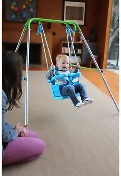 Folding Toddler Indoor & Outdoor Swing Set