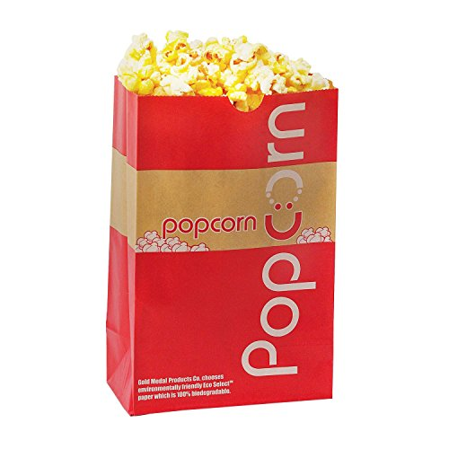 Gold Medal Eco-Select Popcorn Bags, 85 oz. (500 ct.) (Eco Popcorn Bags compare prices)