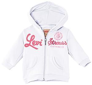 Levi's Leah2 Zipper - Sudadera con capucha de manga larga para bebé