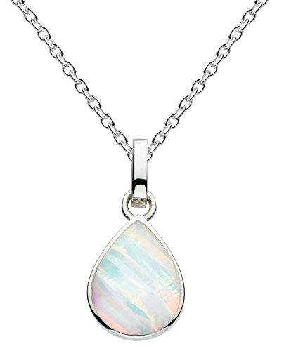 dew-damen-halsband-silber-opal-mehrfarbig-9061mso