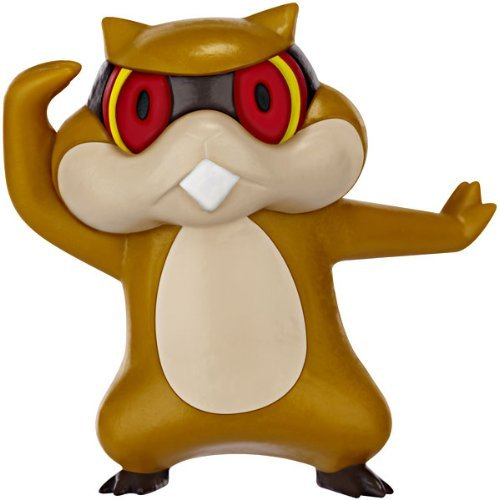 Pokemon Black & White Basic Series 2 Patrat Action Figure - 1