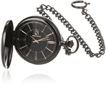 Steinhausen PG102L Tasche Quartz Black Pocket Watch