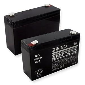 6 volt 12ah SLA Battery-Electronics