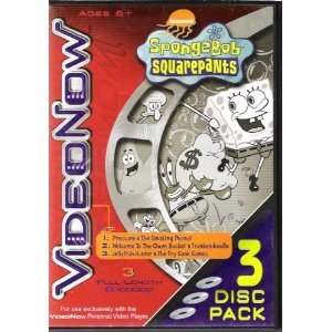 VideoNow Spongebob Squarepants -3 Disc Pack