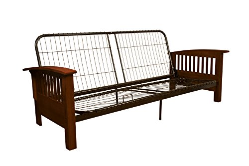 Epic furnishings brentwood mission style futon sofa for Mission style bed frame plans
