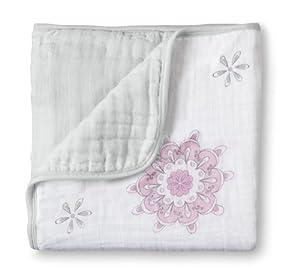 aden + anais Muslin Dream Blanket, For The Birds - Medallions