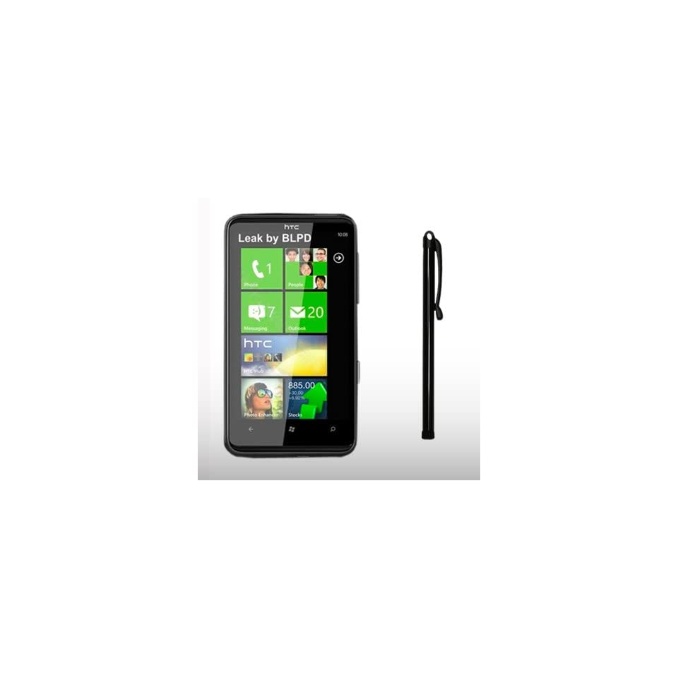 HTC HD7 BLACK CAPACITIVE TOUCH SCREEN STYLUS PEN BY