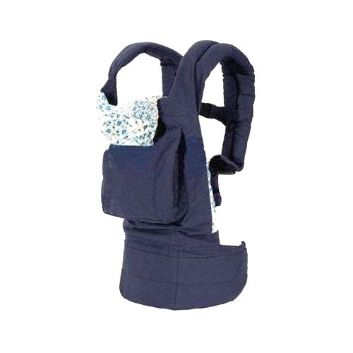 Ergonomics Baby Carrier with Great Back Support (Navy Blue)