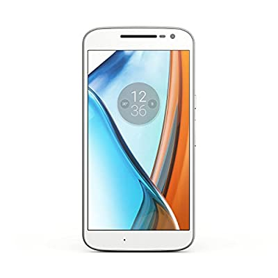 Moto G, 4th Gen (White, 32GB)