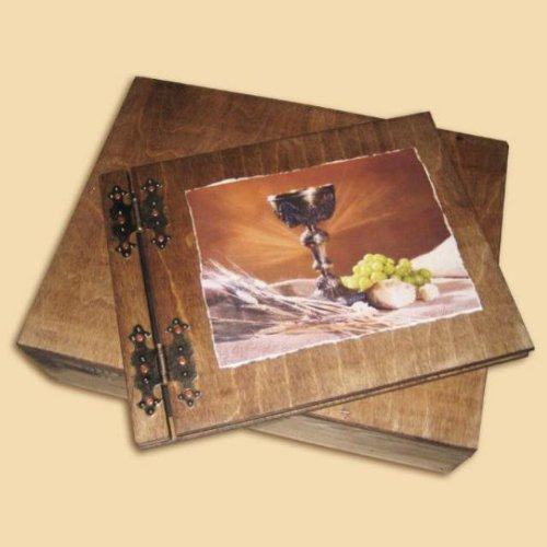 Communion photo Album with a wooden case 50 pages