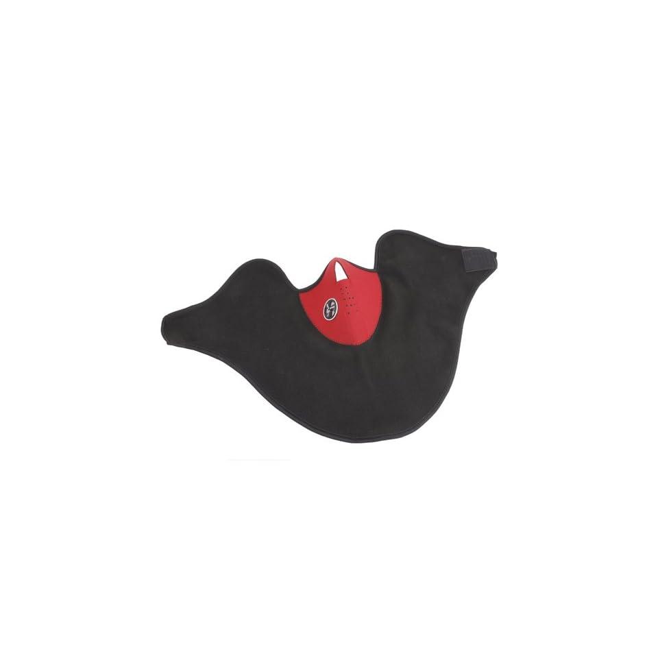 Ski Snowboard Motorcycle Bicycle/Bike Neck Warmer Muff Face Mask, Red