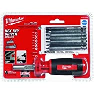 Milwaukee Elec.Tool 48-22-2106 10-in-1 Metric Hex Multi-Bit Screwdriver