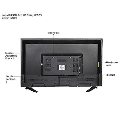 Koryo KLE40DLBH1 LED TV - Black