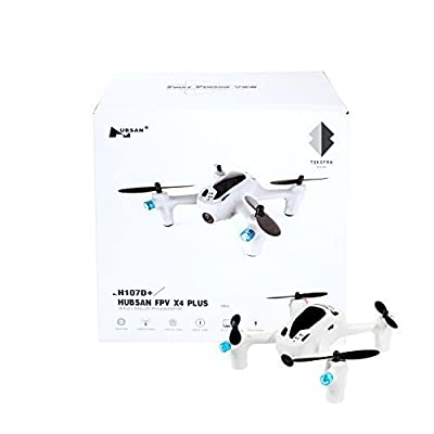 Hubsan FPV X4 PLUS H107D+2.4G 4CH RC Quadcopter Includes BONUS BATTERY (*Doubles Flying Time*)