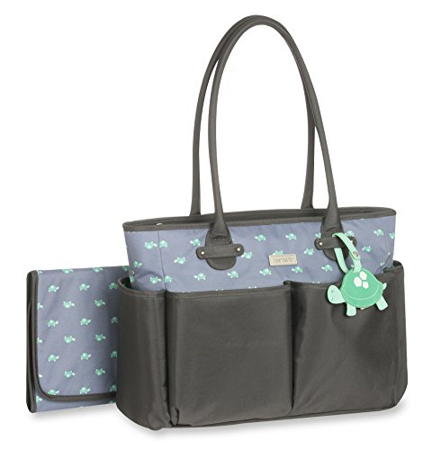 Carter's Luggage Tag Tote Print, Turtle