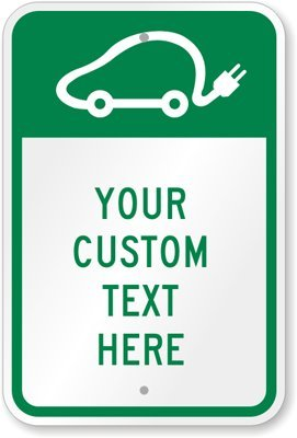 "Your Custom Text Here [With Graphic] Sign, 18"" X 12"""