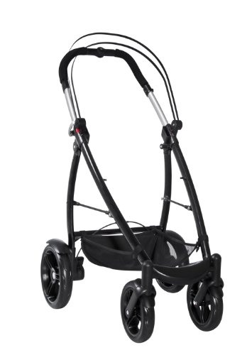 phil&teds Smart Customizable Frame Stroller, Black - 1