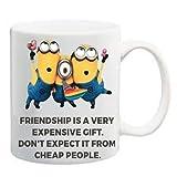 Friendship Is A Very Expensive Gift Coffee Mug by PB Epublisher- Friendship day Mug, Friendship Mugs