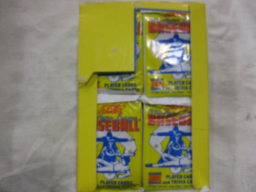 Score 1990 Major League Baseball Player Cards And Trivia Cards 36 Count