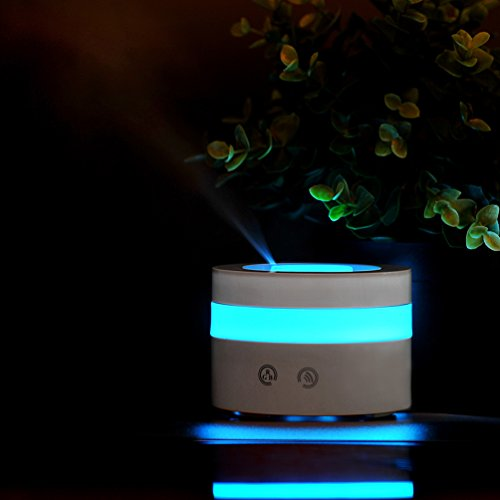 Mini USB Essential Oil Diffuser, redhoney 100ml Portable Humidifier, Travel-size Air Humidifier Ultrasonic Cool Mist Aroma Humidifier, Air Purifier for Bedroom, Baby room, Home, Office, Car (Aroma Diffuser 100ml compare prices)