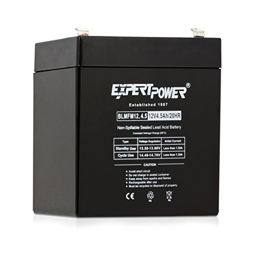ExpertPower EXP1245 12V 4.5 Amp Rechargeable Battery (Home Alarm Batteries compare prices)