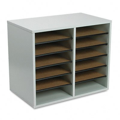 fice Desk Paper Sorter Shelves File Storage Organizer 12