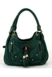 Melie Bianco Michelle Hobo with Tassel Charm (Peacock)