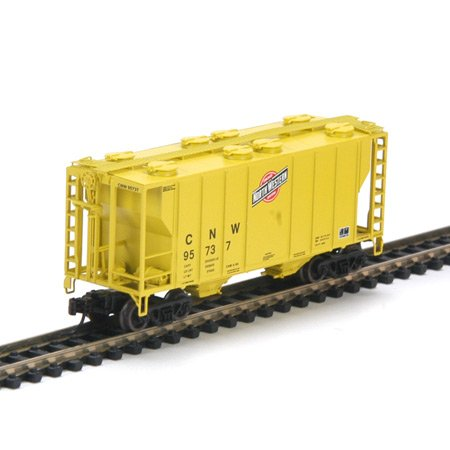 Athearn N Rtr Ps-2 2600 Covered Hopper Cnw/zito 2