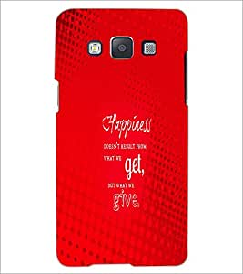 PrintDhaba Quote D-2879 Back Case Cover for SAMSUNG GALAXY A5 (Multi-Coloured)