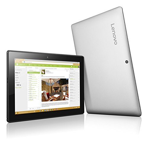 "Lenovo Miix 310 - 10.1"" WXGA 2-in-1 Laptop/Tablet (Intel Atom , 2 GB DDR3, 32 GB SSD, Windows 10) 80SG001GUS at Electronic-Readers.com"
