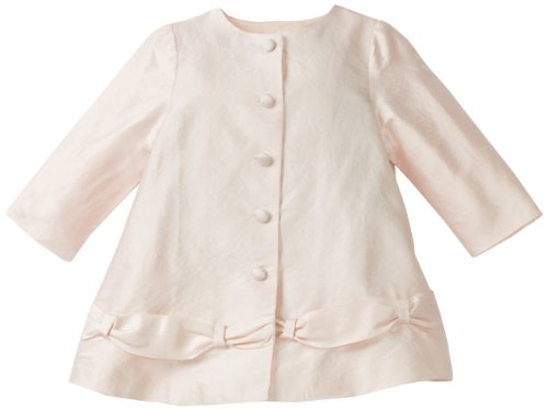 Biscotti Baby-Girls Infant Fairest Of All Coat, Pink, 18 Months