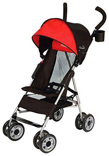 Kolcraft-Cloud-Umbrella-Stroller-Scarlett-Red