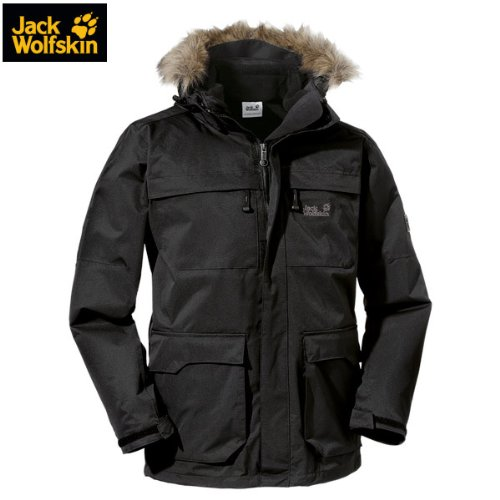 Jack Wolfskin WESTPORT JACKET MEN – Doppeljacke Herren [black] jetzt bestellen