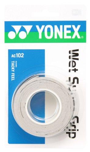 Yonex (YONEX) wet Super grip (3 pieces) grayish white AC102 305