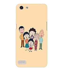 EPICCASE Family case Mobile Back Case Cover For OPPO Neo 7 (Designer Case)