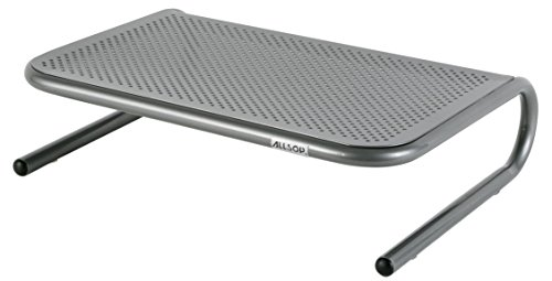 Allsop Monitor Stand Metal Art Jr. Pewter