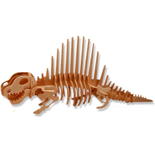 3-D Wooden Puzzle - Dimeterodon -Affordable Gift for your Little One! Item #DCHI-WPZ-J012 - 1