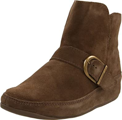 FitFlop Women's Dash Boot,Seal Brown,11 M US