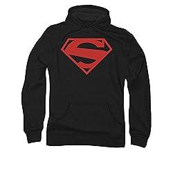 Superman 52 Red Block Pull Over Hoodie