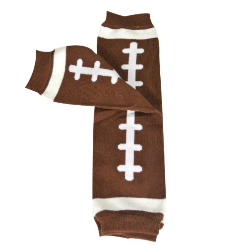 Wrapables Animals and Fun Colorful Baby Leg Warmers - Football (Baby Leggings Football compare prices)