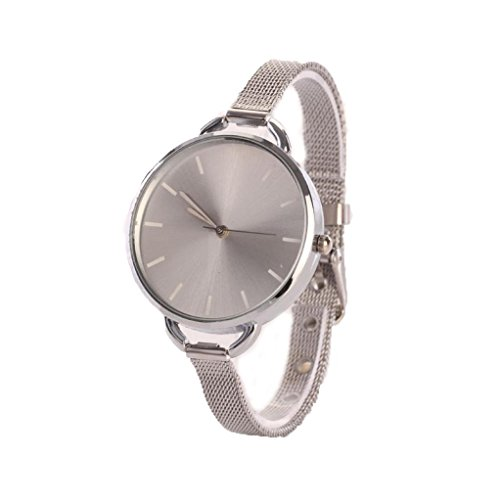 familizo-women-analog-mesh-stainless-quartz-thin-bracelet-wristwatch-silver