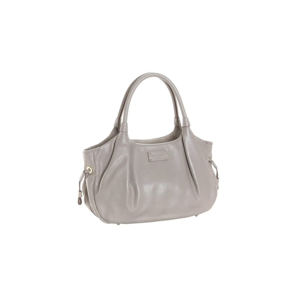 Kate Spade Darien Gloss Stevie Satchel,Oyster,one size