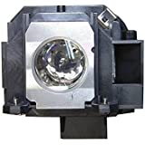 V7 ELPLP40 V13H010L40 Original Bulb Inside Replacement Lamp With Housing For EPSON Projectors EPSON EMP1810 EMP1815...