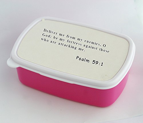 Lunch box with 19 The acts of the flesh are obvious sexual immorality impurity and debauchery
